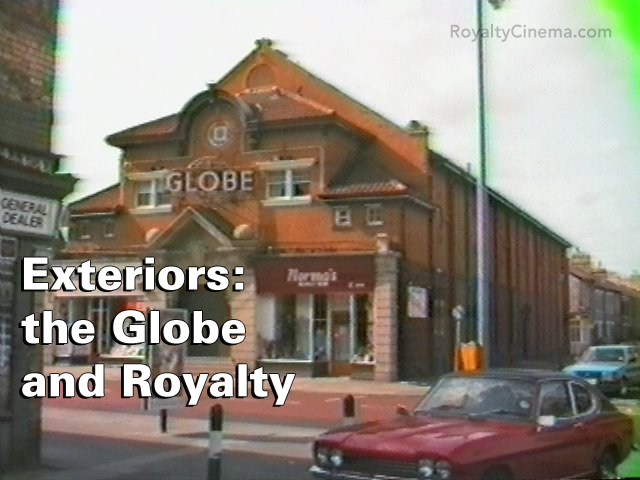 Exteriors: Globe and Royalty